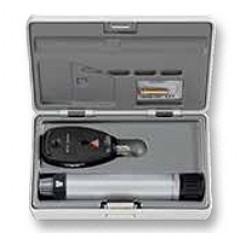 Офтальмоскоп прямой медицинский BETA 200 LED с рукояткой перезаряжаемой BETA 4NT, базовый состав с принадлежностями - MT127