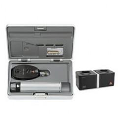 Офтальмоскоп прямой медицинский BETA 200S LED с рукояткой перезаряжаемой BETA 4NT, базовый состав с принадлежностями