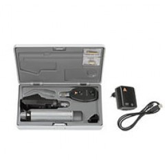Офтальмоскоп прямой медицинский BETA 200S LED с рукояткой перезаряжаемой BETA ТR(4USB), базовый состав с принадлежностями