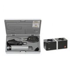 Офтальмоскоп прямой медицинский BETA 200 с рукояткой перезаряжаемой BETA 4NT, базовый состав с принадлежностями