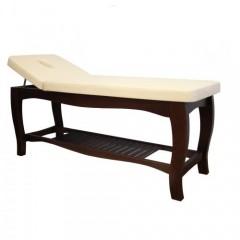 Деревянная массажная кушетка с подъемом головной секции WCO3 - ГЛ008
