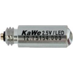 Лампочка 2,5В ЛЭД стандартной яркости (Kawe) - КВ12.75154.003